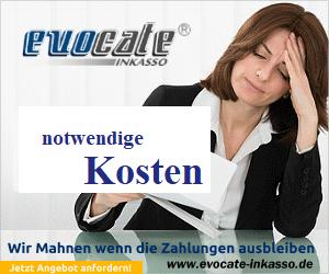 Inkasso Kosten - evocate Inkasso GmbH